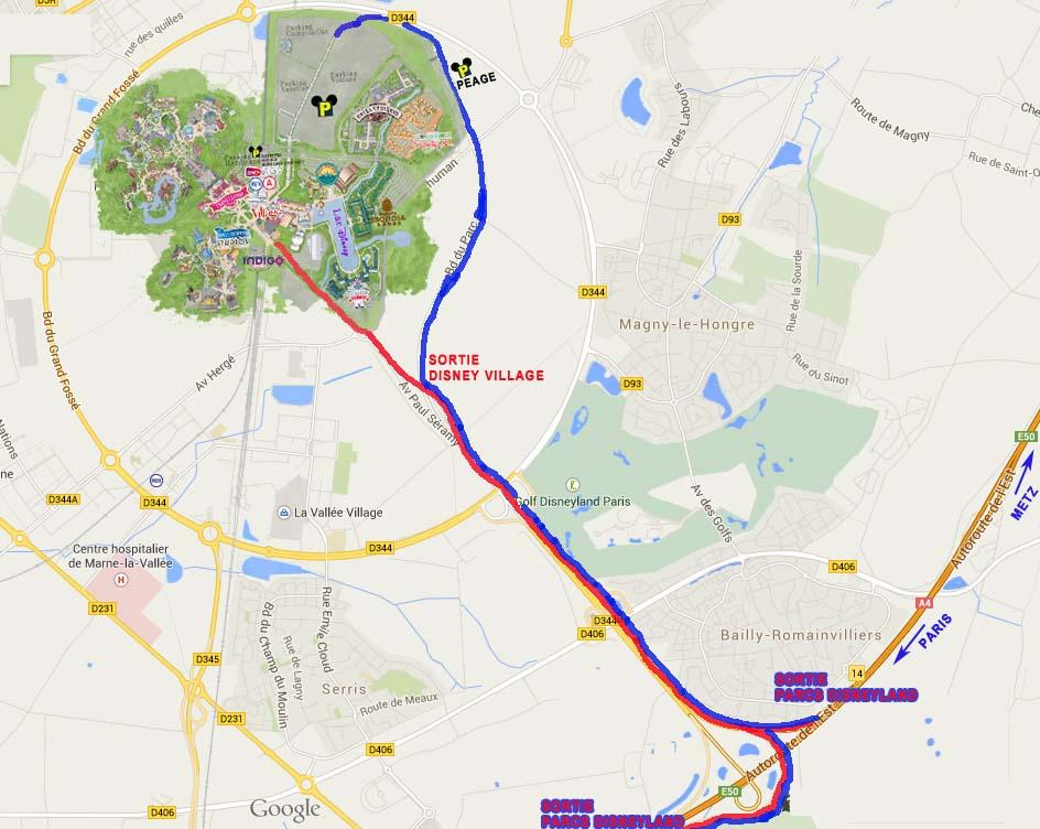 plan-acces-disneyvillage-disneyland