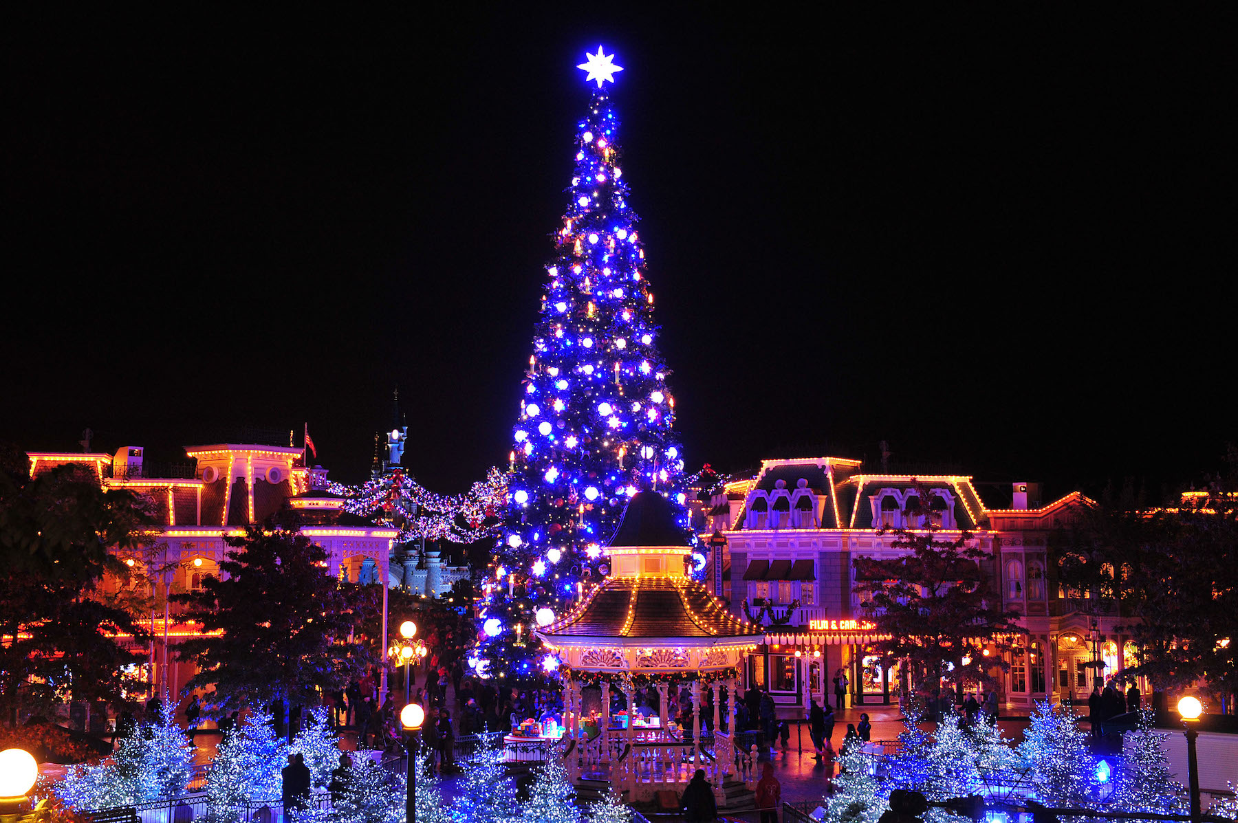 Sapin-Disneyland