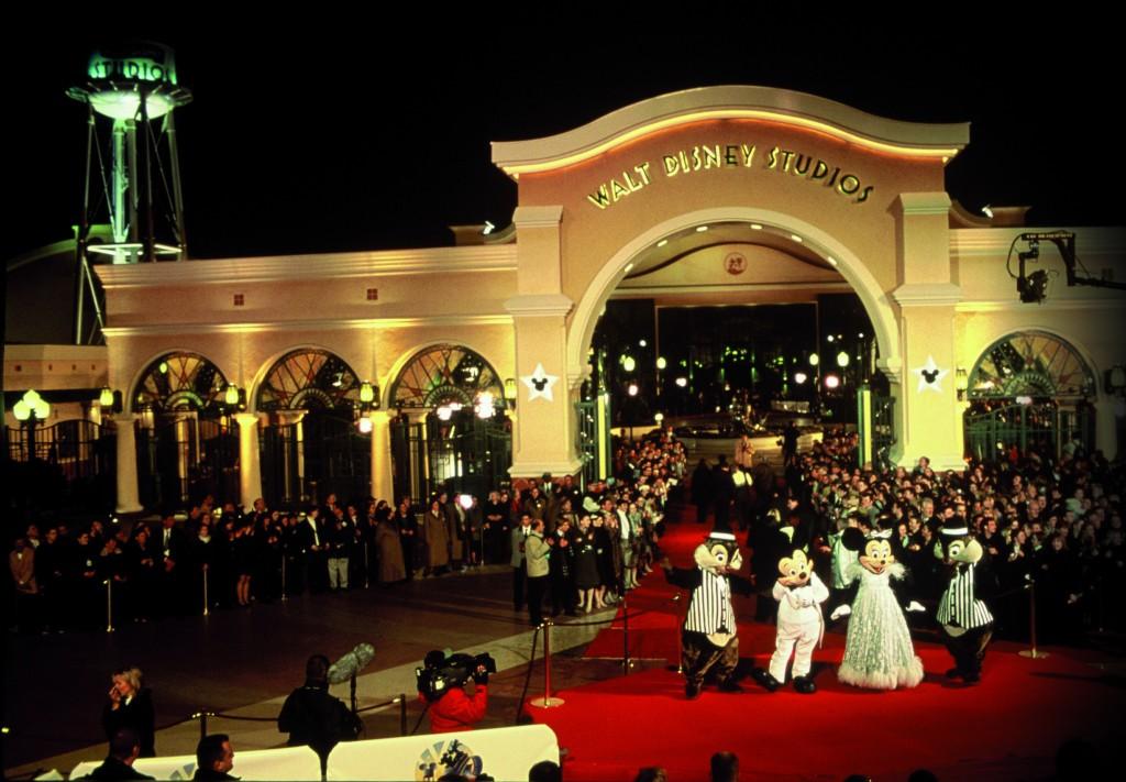 Inauguration du Walt Disney Studios Park.