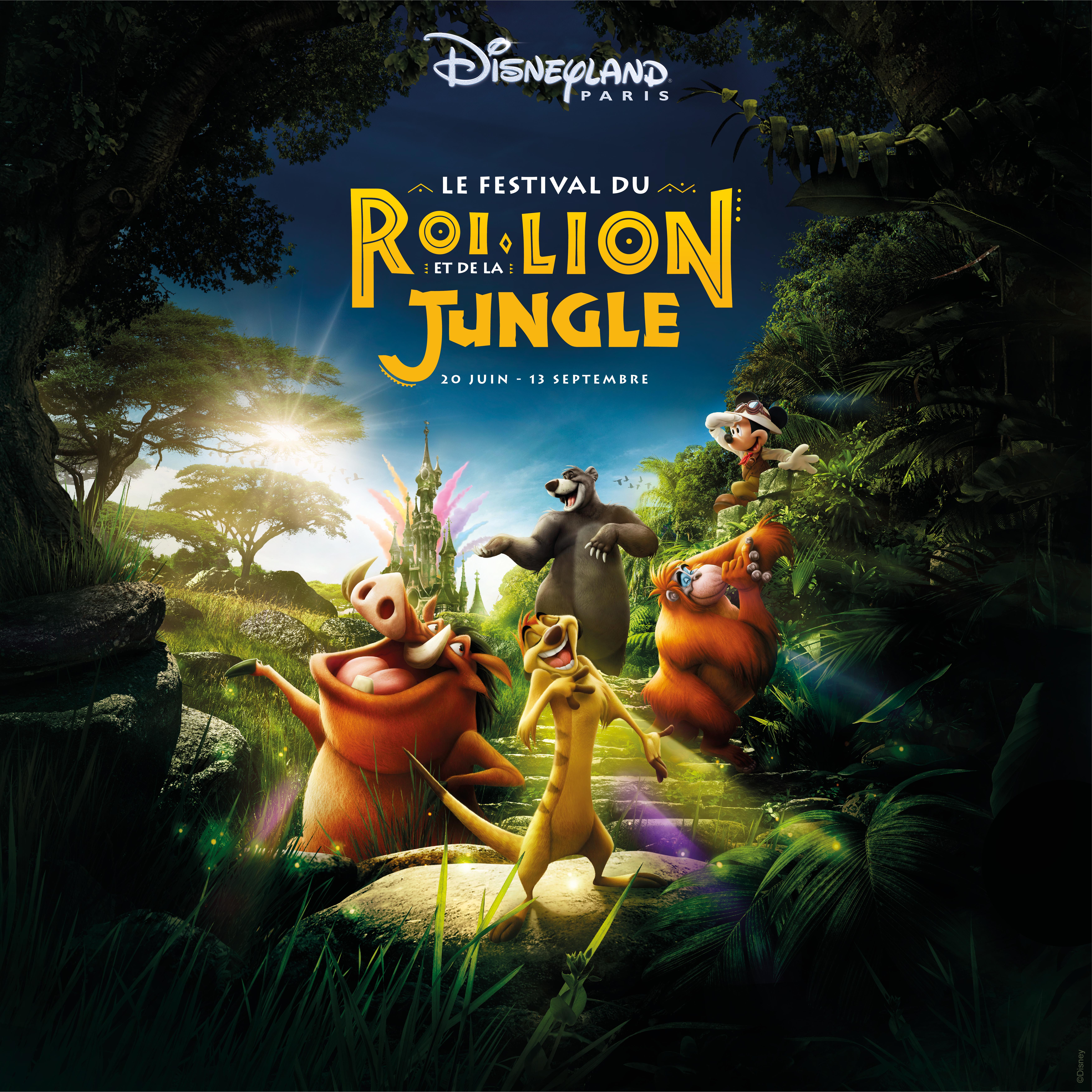 Le Festival du Roi Lion et de la Jungle